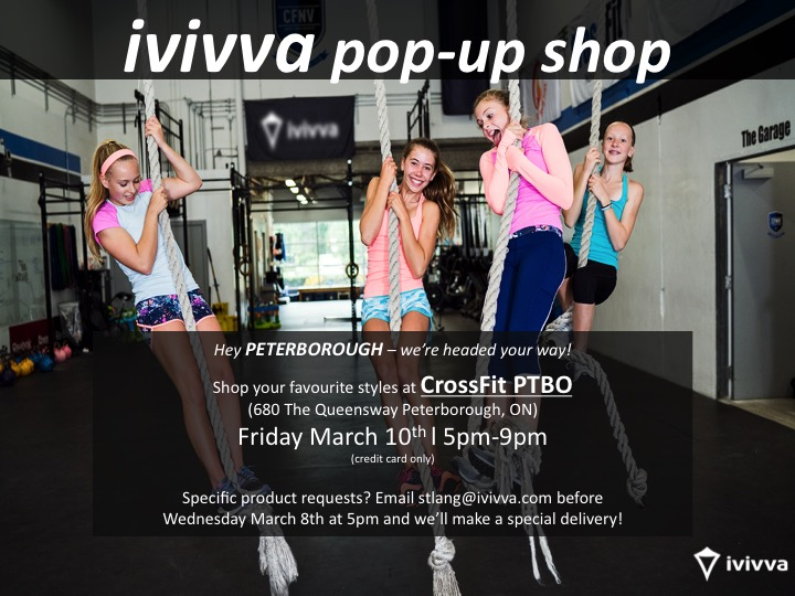ivivva is coming to Peterborough